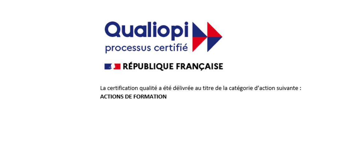 Obtention de la Certification Qualiopi